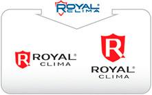 Изменение графического изображения логотипа ROYAL CLIMA c 2013 года