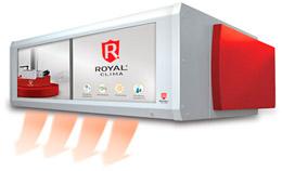 Тепловая завеса ROYAL CLIMA c ЖК-дисплеем